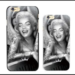 Marilyn Monroe hard sell IPhone 7+ cell case